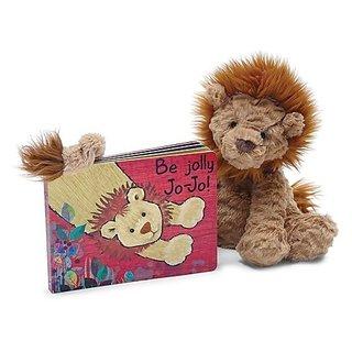 Jellycat Board Books, Be Jolly Jo-Jo
