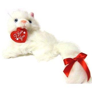 I Love You Cat Stuffed Animal