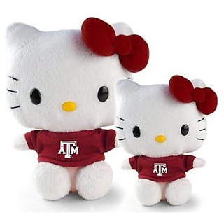 Hello Kitty Goes to College Texas A&M Plush
