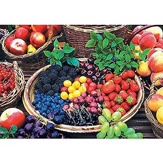 Colorluxe 1500 Piece Puzzle - Berry Fruits