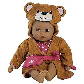Adora Bathtime Baby- Bear 13 Washable Soft Body Play Doll for Children 12 months up