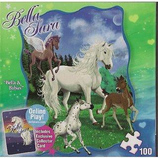 """Bella Sara Series """"Bella & Babies"""" 100 Piece Puzzle"""