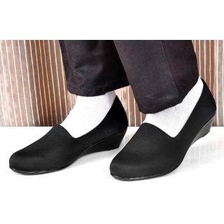 Altek Black Synthetic Formal Shoe For Women ( ALTEK13305BLK )