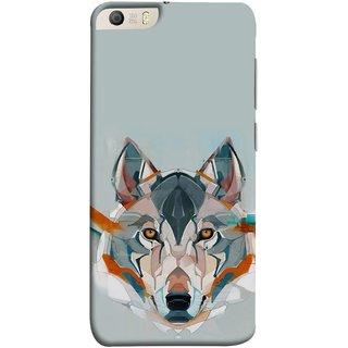 FUSON Designer Back Case Cover for Micromax Canvas Knight 2 E471 (Multicolour Dogs Perfect Look King Bird Night Tree)