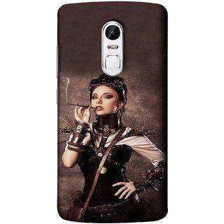 FUSON Designer Back Case Cover for Lenovo Vibe X3 (Mad Men Beauty Moments Betty Draper Smoking )