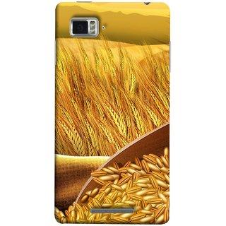 FUSON Designer Back Case Cover for Lenovo Vibe Z K910 (Wheat Farmers Farms Morning Sunlight Bright Day)