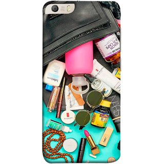 FUSON Designer Back Case Cover for Micromax Canvas Knight 2 E471 (Basic Wardrobe Closet Essentials And Basic Creams)