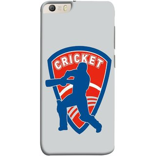 FUSON Designer Back Case Cover for Micromax Canvas Knight 2 E471 (County Cricket India Aus England Bat Ball Batsman)