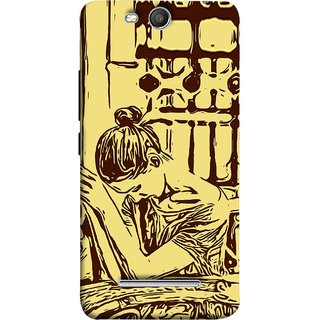 FUSON Designer Back Case Cover for Micromax Canvas Juice 3 Q392 (Photo Upset Hotel Club Hands Together Pub Thinking)