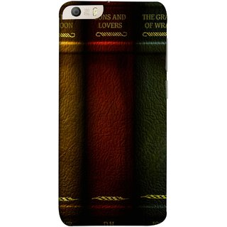 FUSON Designer Back Case Cover for Micromax Canvas Knight 2 E471 (Grapes Of Wrath Sons And Lovers Arthur Koestler)