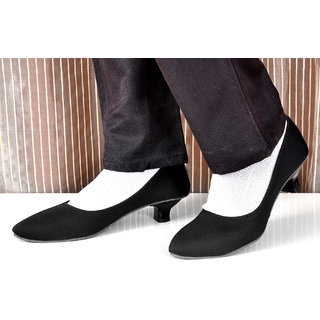 Altek Black Synthetic Ballerina Slip-On Shoe For Women( ALTEK13307BLK )