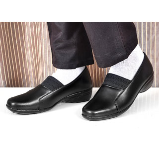 Altek Black Synthetic Formal Shoe For Women ( ALTEK13304BLK )