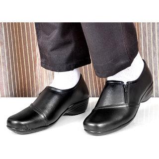 Altek Black Synthetic Formal Shoe For Women ( ALTEK13303BLK )