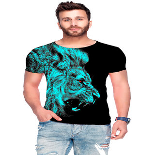 Raves Men's Poly Cotton T-shirts (Jungle Tees 45)