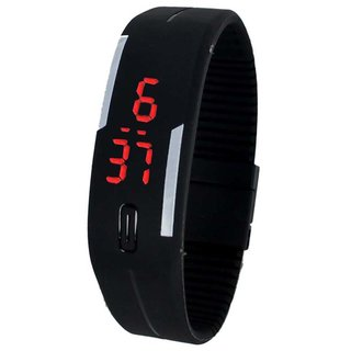 Mettle Silicone Led Sports Watches Men, Women, Children Electronic LED Digital Watch Best For Morning Running Monitor