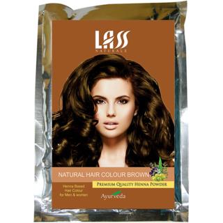 Lass Naturals Hair Color Brown 100 Grams