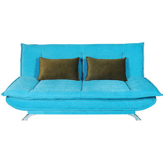 houzzcraft iris fabric sofa cumbed