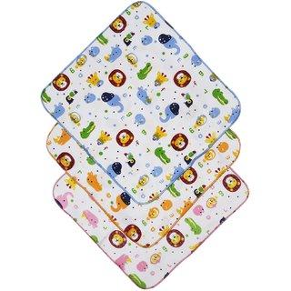 Tumble Animal Print Baby Napkin (Pack of 3)