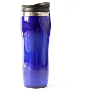 SkyfitnessStainless Steel Flask Water Bottle  Ultra Slim For Travel And Office Use(500ml  Blue)