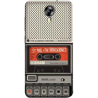 FUSON Designer Back Case Cover for Micromax CanvasNitro4G E371 (Vintage Alabama Theatre St Paul The Broken Bones )