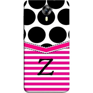 FUSON Designer Back Case Cover for Micromax CanvasNitro4G E371 (Beautiful Cute Nice Couples Pink Design Paper Girly)