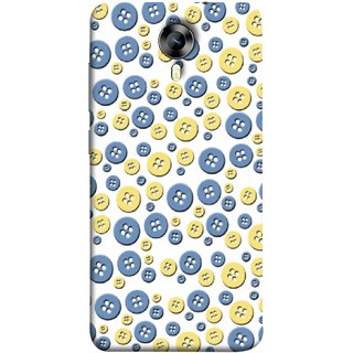 FUSON Designer Back Case Cover for Micromax CanvasNitro4G E371 (Background Cloths Textile Small Medium Large Size )