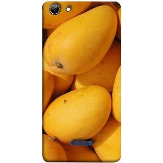 FUSON Designer Back Case Cover for Micromax Canvas Selfie 3 Q348 (Jungle Sweet Villages Fruits Hapoos Langda )