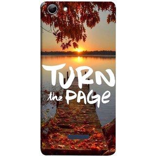 FUSON Designer Back Case Cover for Micromax Canvas Selfie 3 Q348 (Nice Good Morning Sunshine Rise Lake Shore )