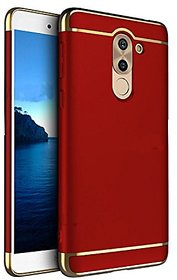 SK Honor 6X Back Cover 3 in 1 Back Case Cover for Honor 6X (Red)