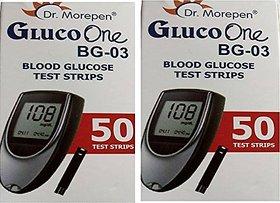 DR.MOREPEN 100 TEST STRIPS BG-03