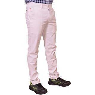 Just Trousers white Regular fit Trousers