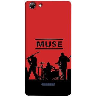 FUSON Designer Back Case Cover for Micromax Canvas Selfie 3 Q348 (Dancers Singers Instruments Piano Musical Concert)