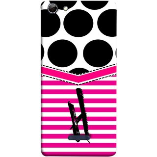 FUSON Designer Back Case Cover for Micromax Canvas Selfie 3 Q348 (Beautiful Cute Nice Couples Pink Design Paper Girly H)