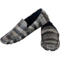 Aaiken Men's Black/Light Black Casual Loafers