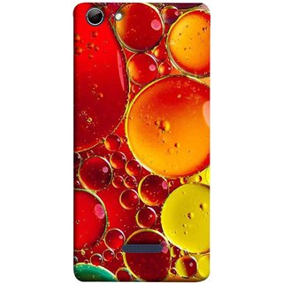 FUSON Designer Back Case Cover for Micromax Canvas Selfie 3 Q348 (Watercolor Colorful Holiday Sketch Oil Painting )