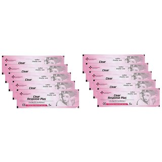 Clear Response Plus Pack of-10 (pregnancy test kit)
