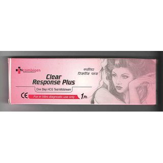Clear Response Plus (Pack of-50) (pregnancy test kit)