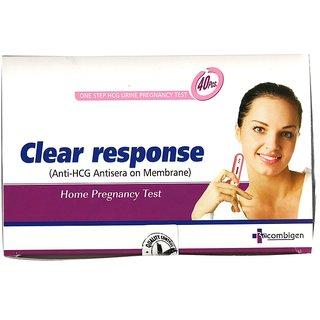 Clear Response Box Pack of 40pcs. (pregnancy test kit)
