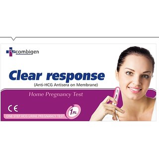 Clear Response pregnancy test kit