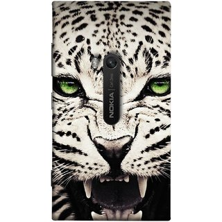 FUSON Designer Back Case Cover for Nokia Lumia 920 :: Micosoft Lumia 920 (Jungle King Stearing Angry Roaring Loud Aslan Panther)