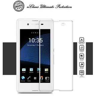 nClans - Sony Xperia E3 Premium Tempered Glass