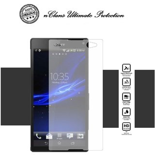 nClans - Sony Xperia C3 Premium Tempered Glass