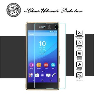 nClans - Sony Xperia M5  Premium Tempered Glass