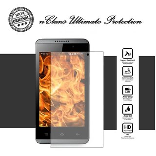 nClans - Lyf Flame 3 Premium Tempered Glass