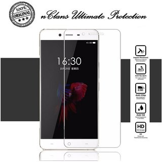 nClans - One Plus X Premium Tempered Glass