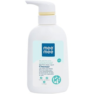 Mee Mee Anti-Bacterial Baby Liquid Cleanser For Fruits Bottles Accessories Amp Toys - 300ml