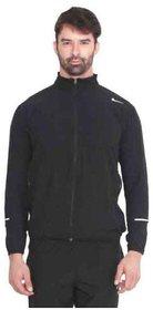 Nike Men's Black Polyester Lycra Jacket