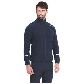Nike Men's Navi Polyester Lycra Jacket