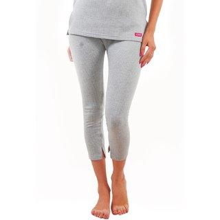 Yorker Light Grey Thermal Trouser For Women