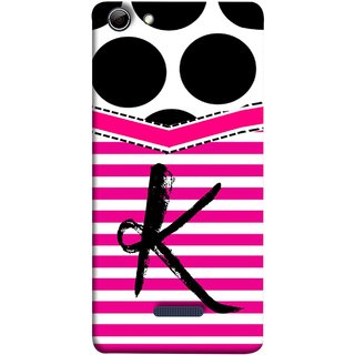 FUSON Designer Back Case Cover for Micromax Canvas Selfie 3 Q348 (Beautiful Cute Nice Couples Pink Design Paper Girly K)